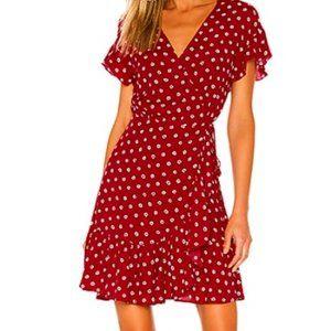 Rails Koreen Hearts Wrap Dress